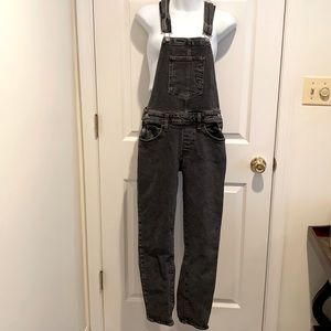 Levi's Black Denim Overalls